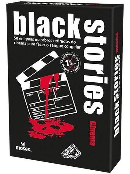Jogo De Cartas Black Stories Cinema Galápagos Pt-br Lacrado