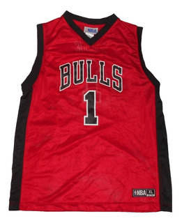 Camiseta Nba - Xl - Chicago Bulls (niños/mujer) - 069