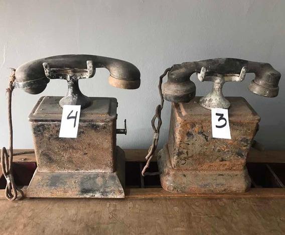 Antiguo Teléfono Ericsson Ac-550 Sin Restaurar Año 1911