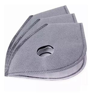 10 Máscara Carbón Activado Filtros
