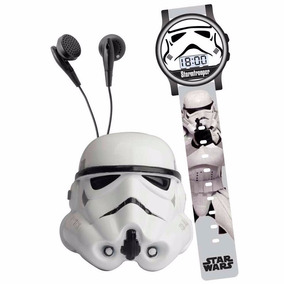 Space Set Rádio Stormtropper + Relógio Star Wars Condide
