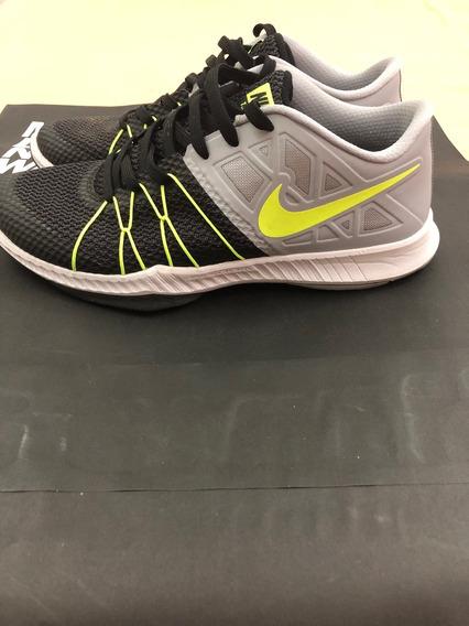 Tenis Nike Preto E Verde