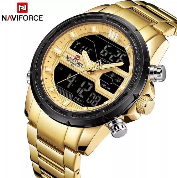 Relógio Naviforce 9138s Esportivo Original Pronta Entrega!