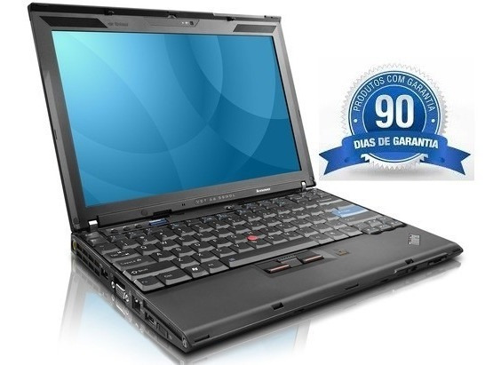 Notebook Lenovo Thinkpad X200 Core2duo Ddr3 Funcionando
