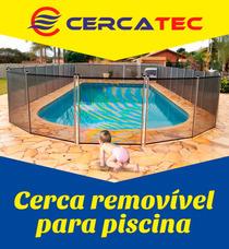 Cerca Removível Para Piscina + Forte ( Contato )