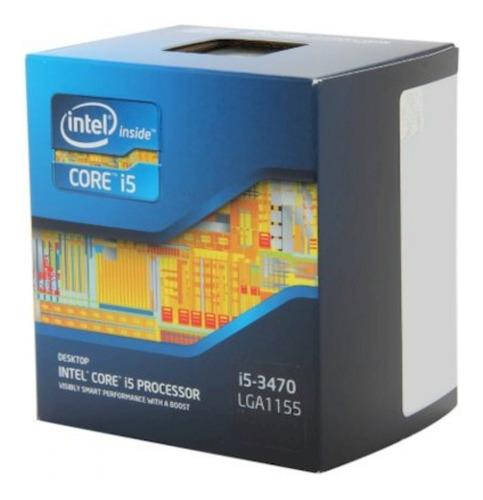 Imagem 1 de 6 de Intel Core I5 3470 3.4ghz 1155 + Pasta I5  Impecável