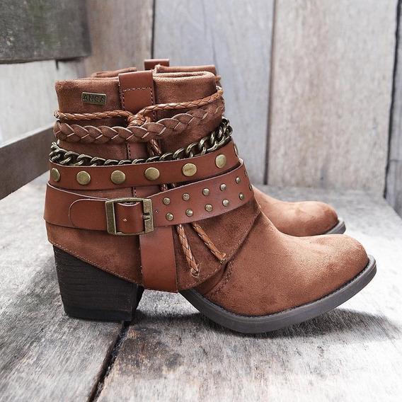 Botas Mujer Texanas Anca & Co Art Maite Zona Zapatos