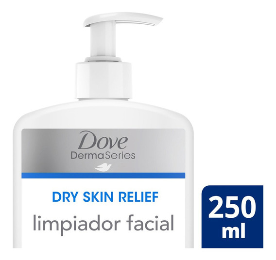 Limpiador Facial Suave Dove Dermaseries Face Wash 250ml