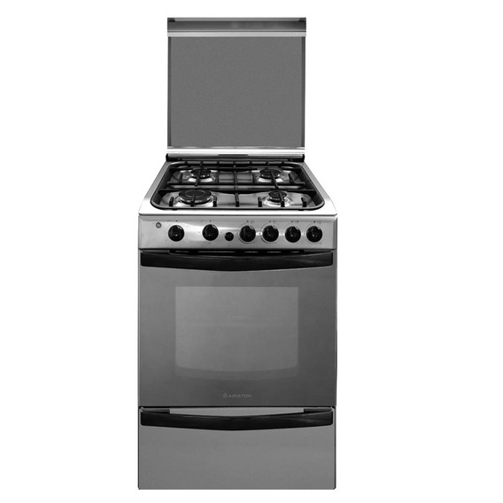 Cocina Multigas Ariston Cg54sg1hx Inoxidable 55cm Tio Musa