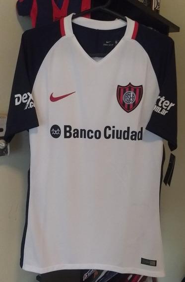 Camiseta San Lorenzo Suplente 2017 - Versión Match