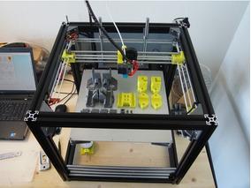Peças Plasticas Para Hypercube Evolution Impressora 3d