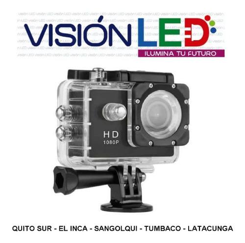 Camara Deportiva Compatible Con Go Pro Action Cam 12mp