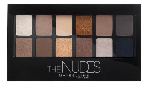 Paleta De Sombras Para Ojos The Nudes Maybelline
