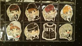 Bts - Kpop - Stickers Exclusivos - 8 Paquetes Completos