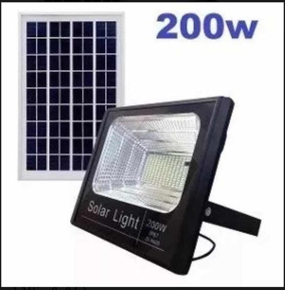 Refletor Led Solar 200w Holofote B/f Ultra Ip67