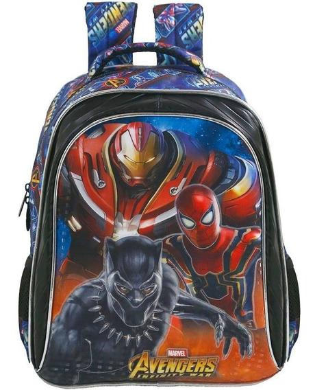 Mochila Escolar Tamanho 16 Xeryus Avengers Armored - 7492