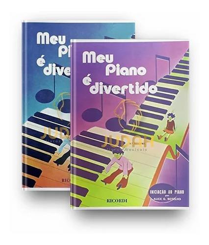 Kit - Meu Piano É Divertido 1 E 2