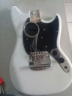 Fender Mustang 1973 Body And Neck Plate Serial Number