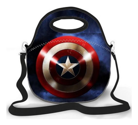 Lancheira Capitão América