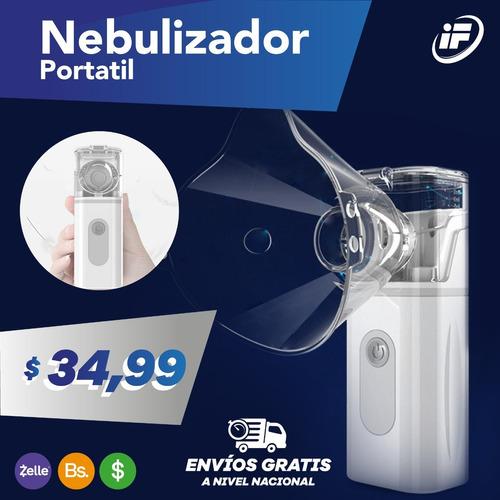 Nebulizador Portátil De Baterías Recargables Litio Inhalambr