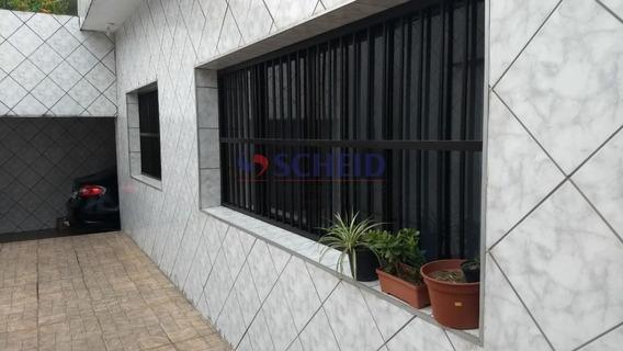 Casa Principal Ampla E No Fundo 2 Andares E No Terceiro Galpão - 500m2 Constr. -coml Ou Residencial - Mr68253
