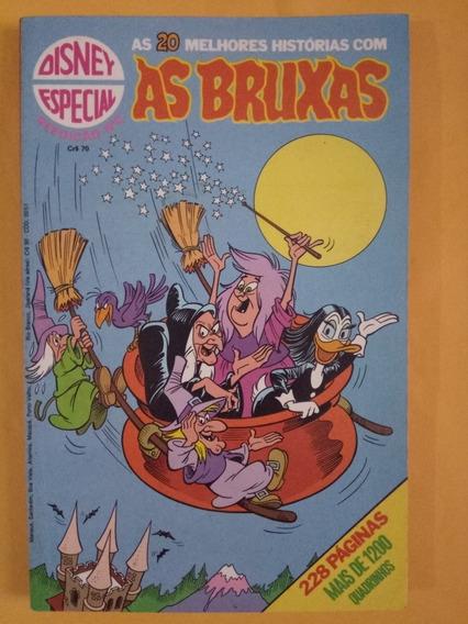 As Bruxas Disney Especial Reedição N.°2 Out. 1980 Edit.abril