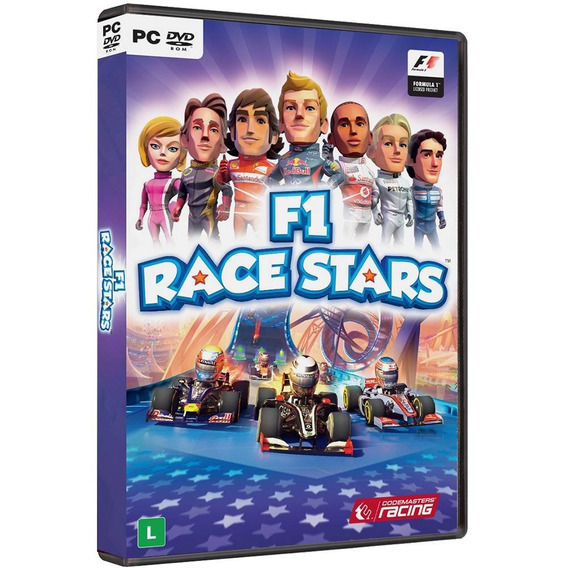 F1 Formula 1 Race Stars Pc Mídia Física Novo Lacrado