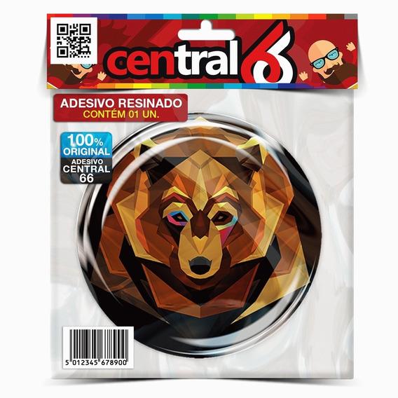Adesivo Animal Urso M02 Resinado