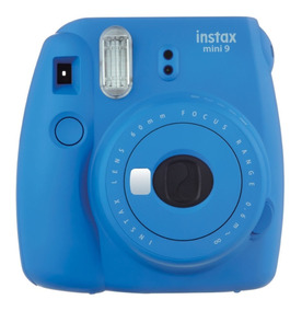 Câmera Instantânea Instax Fujifilm Mini 9 Azul Cobalto