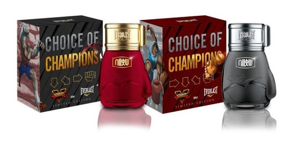 Perfumes Everlast Street Fighter 100 Ml Hadouken + Shoryuken