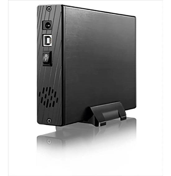 Case Para Hd Externo 3,5 C/ Ventilador Multilaser - Ga119