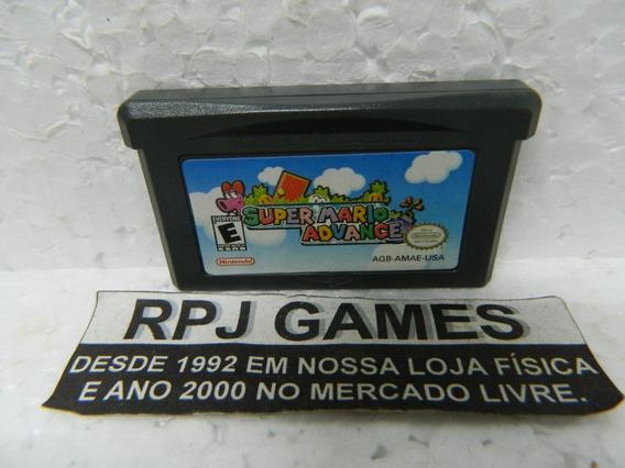 Super Mario Advance Original Salvando Gba Game Boy Advance