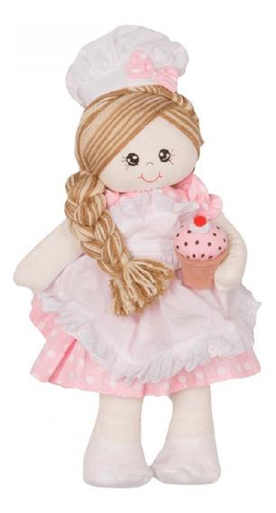 Boneca Confeiteira Tamanho M
