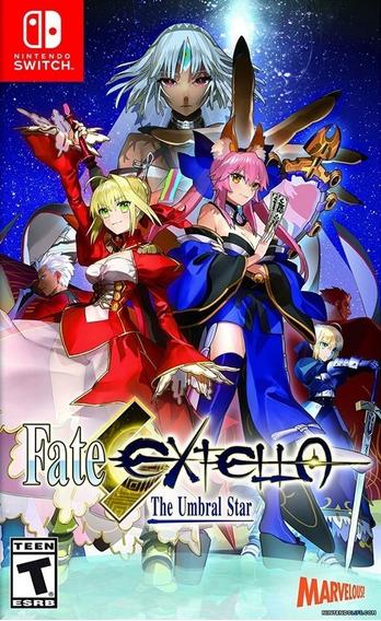 Jogo Nintendo Switch - Fate Extella The Umbral Star Na Caixa