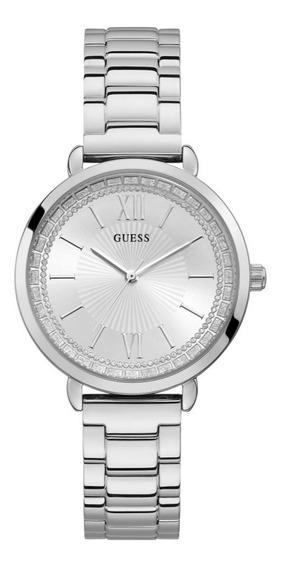 Relógio Feminino Guess 92739l0gdna1 Aço Prata Original C/ Nf