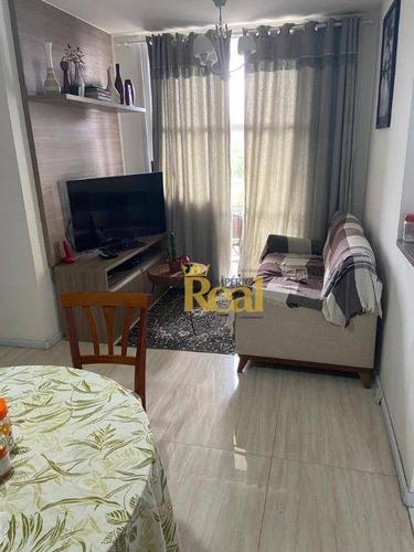 Imagem 1 de 9 de Apartamento À Venda, 47 M² Por R$ 350.000,00 - Vila Dos Remédios - São Paulo/sp - Ap6652