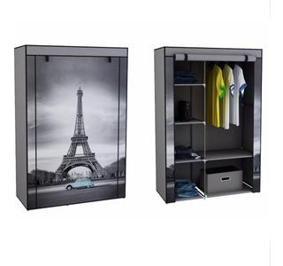 Decoracion Diseño Torre Eiffel Paris O Caseta Telefonica Londres Armario Armable Para Ropa Envio Gratis!