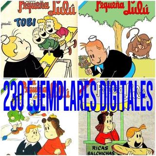 La Pequeña Lulu Novaro Comics Coleccion 250 Ejemplares