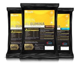 Albumina Pura Growth Supplements 500gramas Original