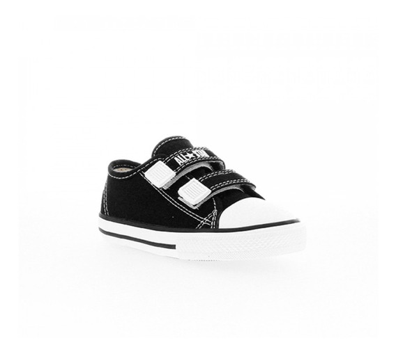 Tênis Infantil All Star Border2 Ck 05070002 Preto - Original