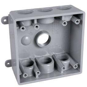 Hubbell-bell Caja Resistente A La Intemperie Pdb77550gy Con