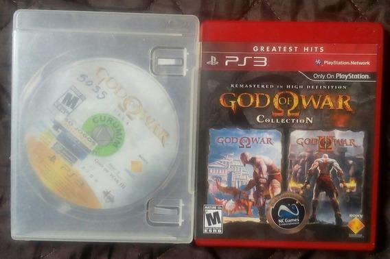 God Of War 1, 2 E 3 Para Playstation 3