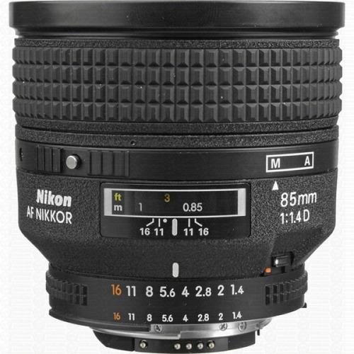 Lente Objetiva Af Nikon Nikkor 85mm F/1.4d (nova Na Caixa)