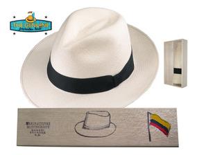 Sombrero Fino Paja Toquilla Panama Hat Caja (fabricante)