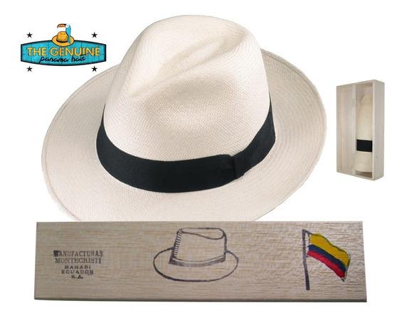 Sombrero Fino Pajatoquilla Panamahat + Cajita (fabricante)