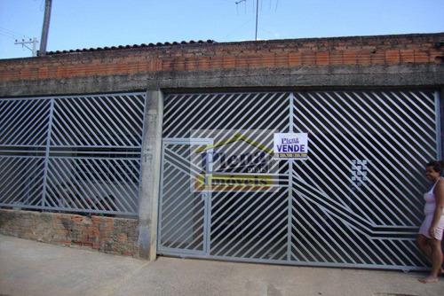 Casa  Residencial À Venda, Jardim Boa Esperança, Hortolândia. - Ca0802