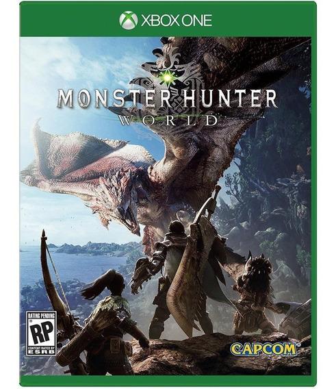 Monster Hunter: World Xbox One Mídia Digital + 1 Jogo Grátis