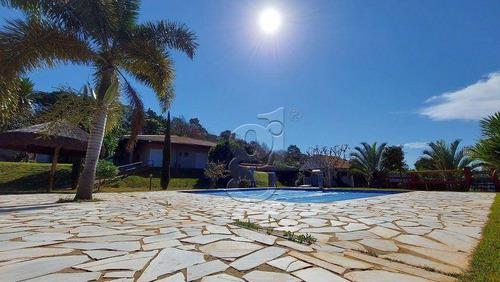 Imagem 1 de 26 de Linda Chácara Com 4230m2 De Terreno - 3 Suítes - 528 M² De Construção-  Condomínio Residencial Green Village - Cambé/pr - Ca0403