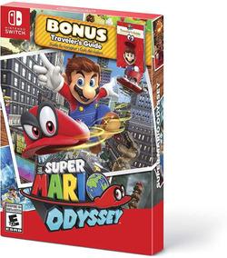 Super Mario Odyssey Travelers Guide - Midia Fisica!