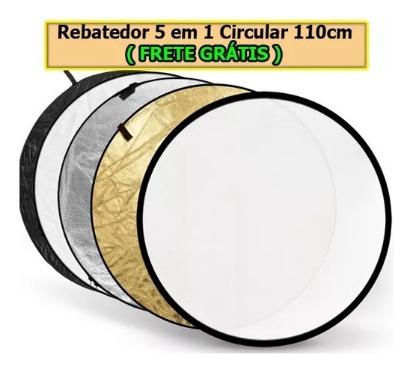 110cm 5-em-1 Refletor Rebateador Fotográfico